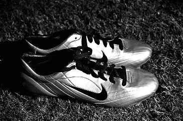 Nike Mercurial Vapor II schwarz weiß