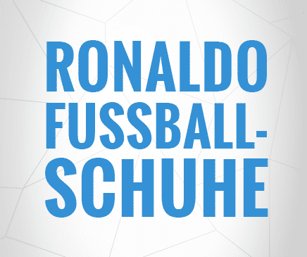 Ronaldo Schuhe