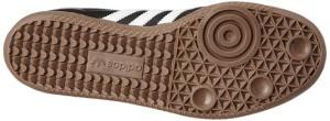 Adidas Samba schwarz Sohle