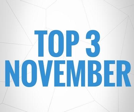 Top 3 Fussballschuhe November 2016