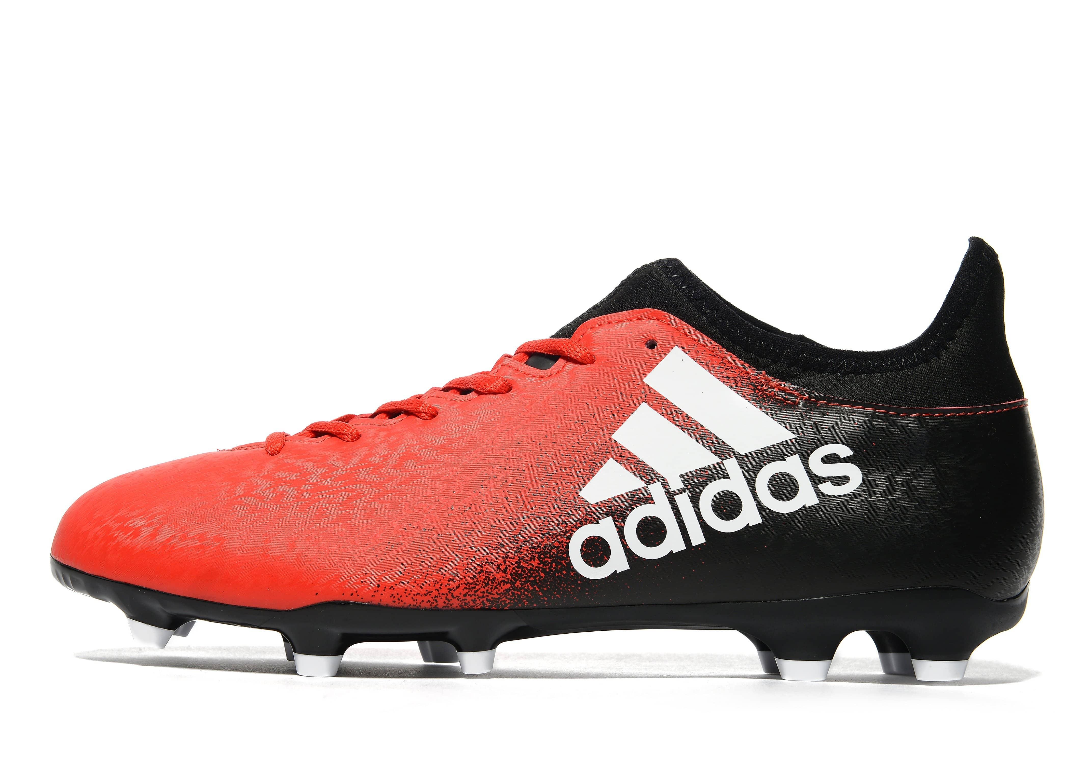 adidas Red Limit X 16.3 FG - Red/ White/Black - Mens
